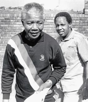 Chris Hani and Nelson Mandela